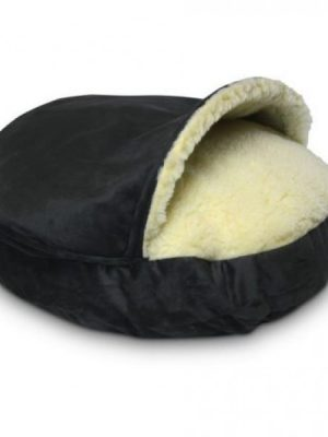 Snoozer Cozy Cave Small - Anthracite - Luxury-0