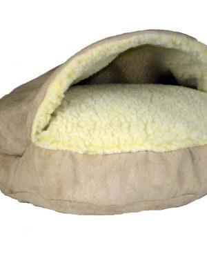 Snoozer Cozy Cave Large - Buckskin