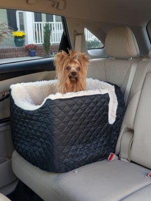 Snoozer Lookout I Honden Autostoel - Small - Black (tot 8 kg)-0