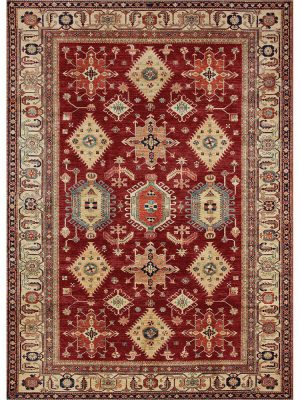 Ruggable Washable Rug - Noor Ruby (150cm x 210 cm)-0