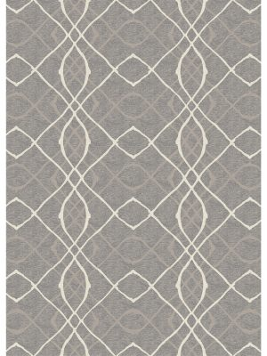 Ruggable Washable Rug - Amara Grey (150cm x 210 cm)-0