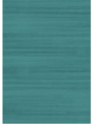 Ruggable Washable Rug - Solid Textured Ocean Blue (150cm x 210 cm)-0