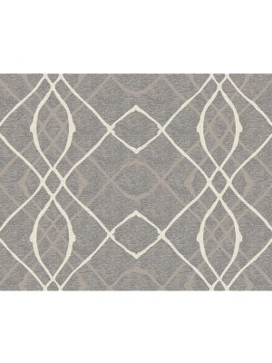 Ruggable Washable Rug - Amara Grey (90 cm x 150 cm)-0