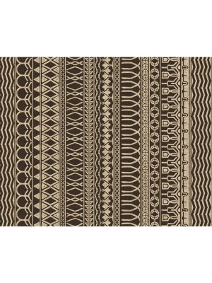Ruggable Washable Rug - Cadiz Espresso (90 cm x 150 cm)-0