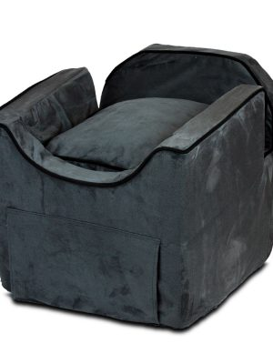 Luxury Snoozer Lookout II Honden Autostoel - Medium - Anthracite (up to 11,5 kg) - met opberglade-0