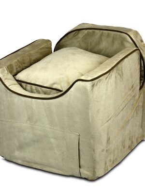 Luxury Snoozer Lookout II Honden Autostoel - Medium - Buckskin (up to 11,5 kg) - met opberglade-0
