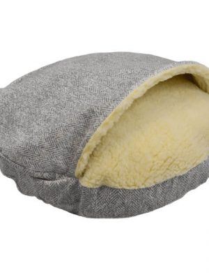 Snoozer Cozy Cave Large - Palmer Dove - Show Dog -0