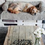 Bolstered Sofa Throw - Hondenbed voor op de bank - Storm-1765