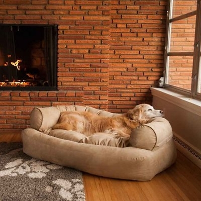 Snoozer Pet Products - Overstuffed Sofa Hondenbed - Peat (Snoozer Pet Products)-1738