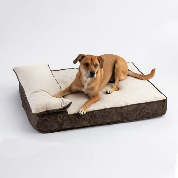Snoozer Pillow Rest Lounger - Cooling Foam - Laurel Mocha-0