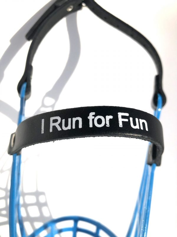 I Run For Fun - Muilkorf - Medium-2657