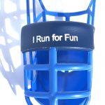 I Run For Fun - Muzzle - Large Single Padded-2616
