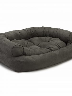 Snoozer Pet Products - Overstuffed Sofa Hondenbed - Anthracite (Luxury)-0