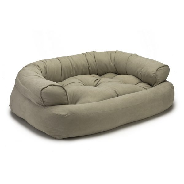 Snoozer Pet Products - Overstuffed Sofa Hondenbed - Buckskin (Luxury)-0