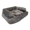 Snoozer Pet Products - Overstuffed Sofa Hondenbed - Laurel Mocha (Show Dog)-0