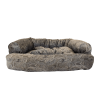 Snoozer Pet Products - Overstuffed Sofa Hondenbed - Laurel Mocha (Show Dog)-2799