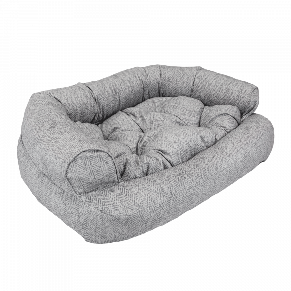 Snoozer Pet Products - Overstuffed Sofa Hondenbed - Palmer Dove (Show Dog)-0