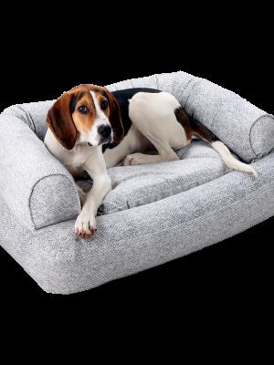Snoozer Pet Products - Luxury Orthopedic Sleeper Sofa with Memory Foam - Palmer Dove (Showdog)-0