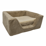 Snoozer Pet Products - Orthopedisch Vierkant Hondenbed met Memory Foam - Piston Sand-0
