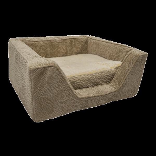Snoozer Pet Products - Orthopedisch Vierkant Hondenbed met Memory Foam - Piston Sand-0