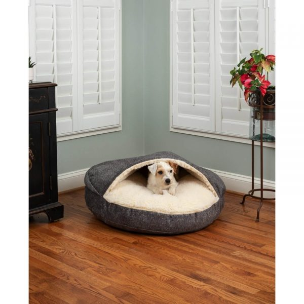 Snoozer Cozy Cave® Hondenbed - ROND - Show Dog-0